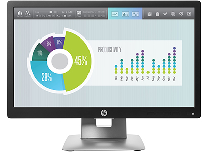 HP EliteDisplay E202 20-inch Monitor